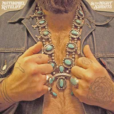 The album art for Nathaniel Rateliff & The Night Sweat's self-titled debut