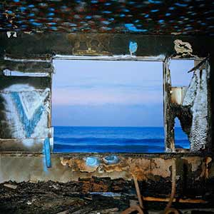 The album art for Deerhunter's Fading Frontier