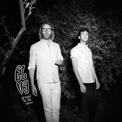 The cover for EL VY's debut, Return To The Moon
