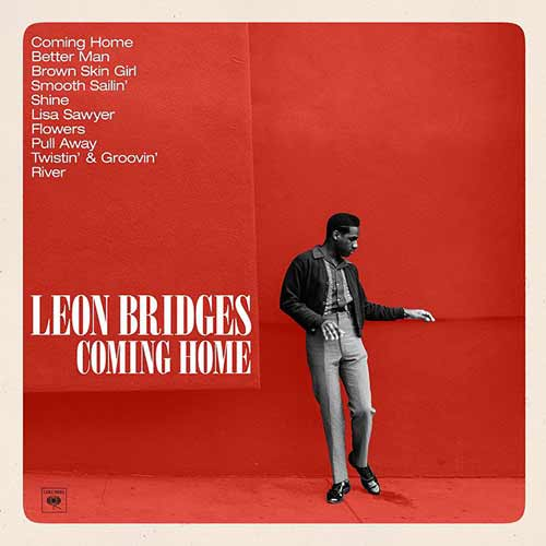 Album art for Leon Bridges' Coming Home,