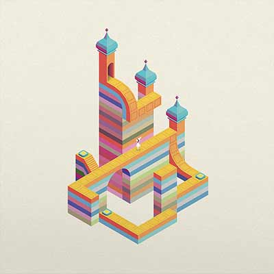 The album art for Monument Valley's soundtrack