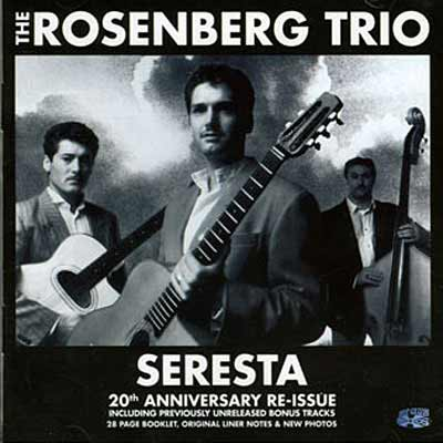 An image of the album art for The Rosenberg Trio's Seresta