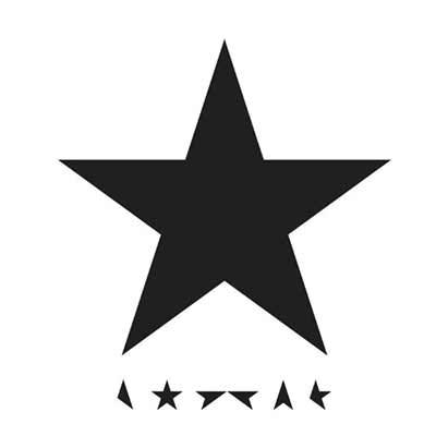 The album art for Davie Bowie's Blackstar