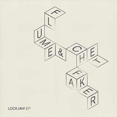 The album art for Flume & Chet Faker's Lockjaw EP