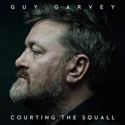 The album art for Guy Carvey's Courting The Squall