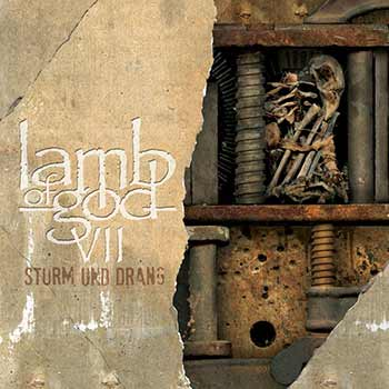 An image of the album art for Lamb of God's Sturm Und Drang