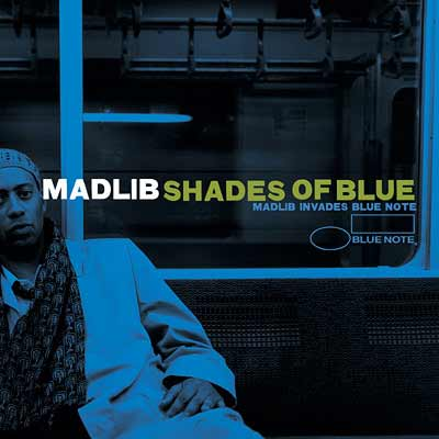 The album art for Madlib's Shades Of Blue