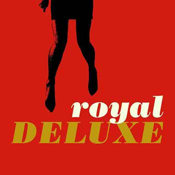 The album art for Royal Deluxe's self-titled debut album