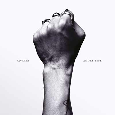 The Savages' album art for Adore Life
