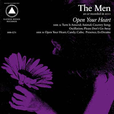 An image of the album art for The Men's Open Your Heart