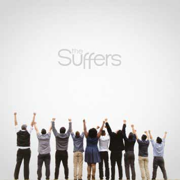 The album art for The Suffers' self-titled debut album