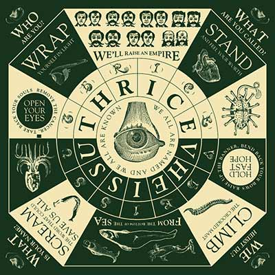 The album art for Thrice's Vheissu