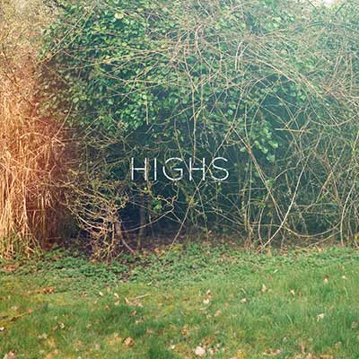 The album art for HIGHS' debut self-titled EP