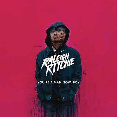 The deluxe album art for Raleigh RItchie's You're a Man Now, Boy