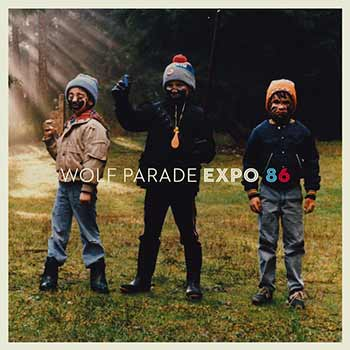 Album art for Wolf Parade's Expo 86