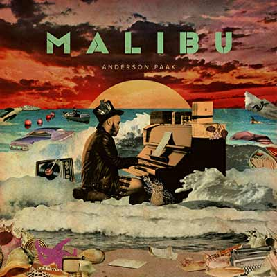 The album art for Anderson .Paak's Malibu