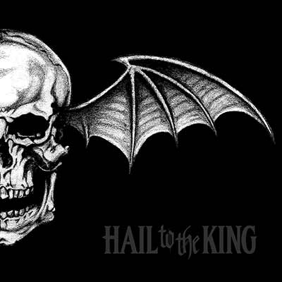 The album art for Avenged Sevenfold's Hail to the King