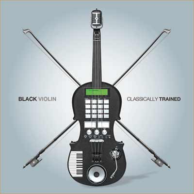 The album art for Black Violin's Classically Trained