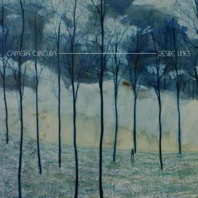 The album art for Camera Obscura's Desire Lines
