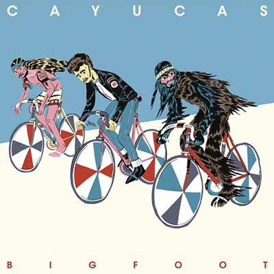 The album art for Cayucas' Bigfoot