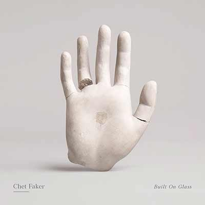 The album art for Chet Faker's Built on Glass
