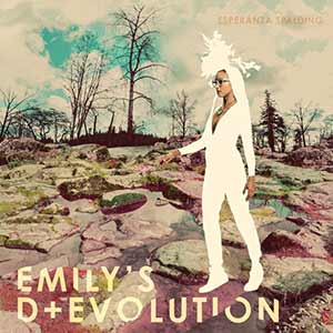 The album art for Esperanza Spalding's Emily's D+ Revolution
