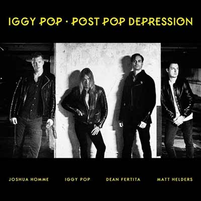 The album art for Iggy Pop's Post Pop Depression