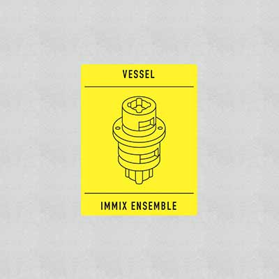 The album art for Immix Ensemble & Vessel's debut EP, Transition