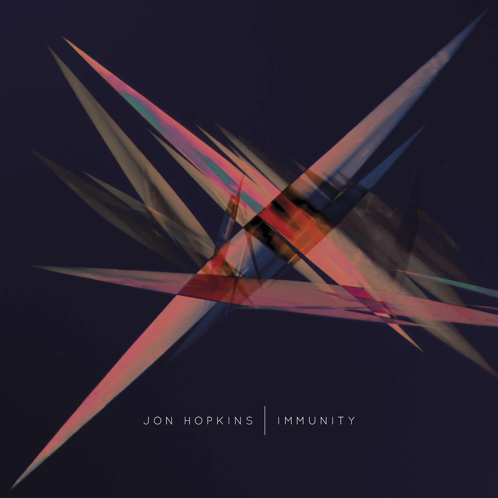 The album art for Jon Hopkins' Immunity