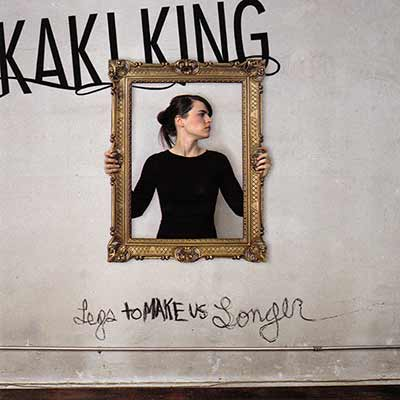 The album art for Kaki King's Legs to Make Us Longer