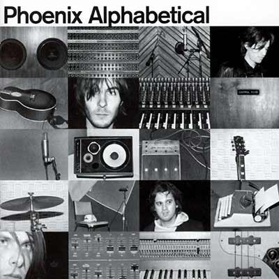 The album art for Phoenix's Alphabetical