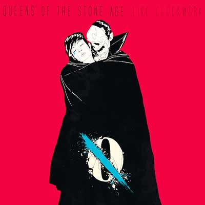 The album art for Queens of the Stone Age's ...Like Clockwork,