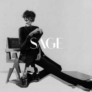 The album art for Sage's self-titled debut