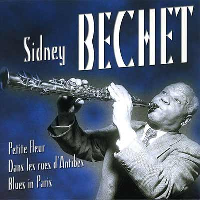 The album art for Sidney Bechet's Plus Belles Chansons