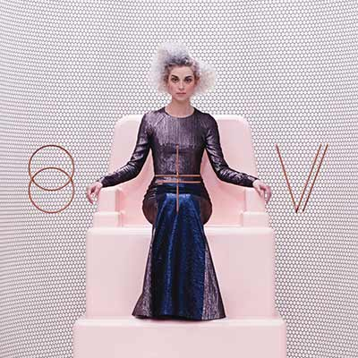 The album art for St. Vincent's self-titled record