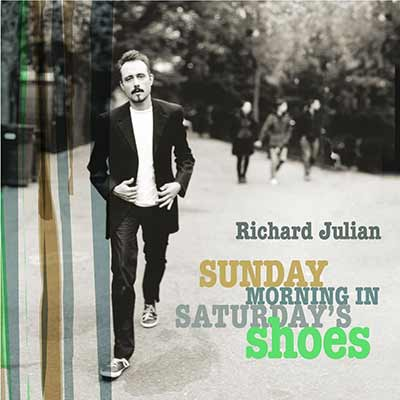The album art for Richard Julian's Sunday Morning in Saturday's Shoes