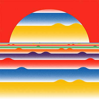 The album art for The Helio Sequence's eight album and first self-titled LP.