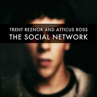 The album art for Trent Reznor and Atticus Ross' The Social Network Soundtrack.