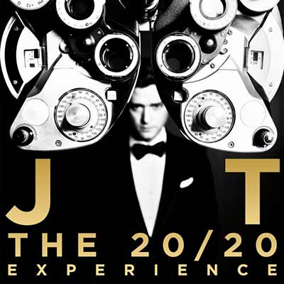 The artwork for Justin Timberlake's 20/20 Experience: Part 2