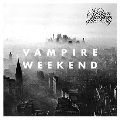 The album art for Vampire Weekend's Modern Vampires of the City