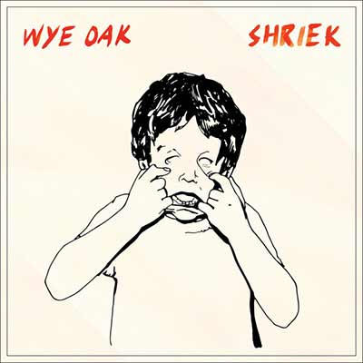 An image of the album art for Wye Oak's Shriek