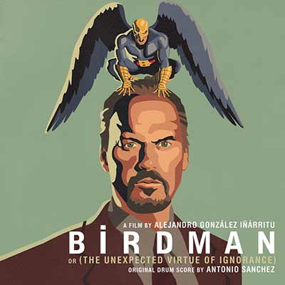 The album art for the Birdman soundtrack