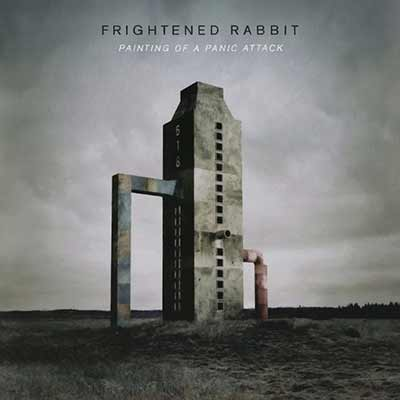 The album art for Frightened Rabbit's Painting of a Panic Attack