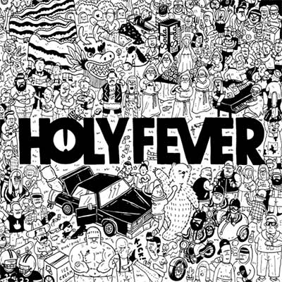 The album art for Holy Fever's The Wreckage