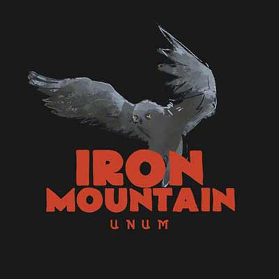 The vinyl album art for Iron Mountain's Unum
