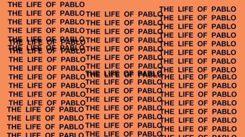 Alternative album art for The Life of Pablo.