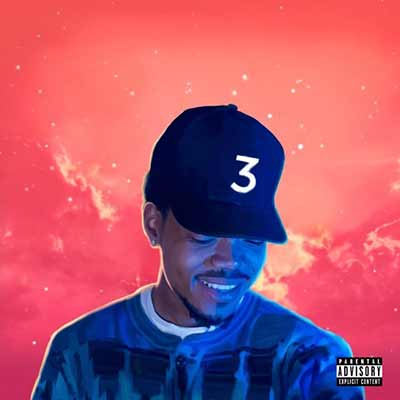 The album art for Chance the Rapper's Coloring Book