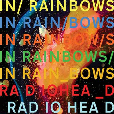 The album art for In Rainbows