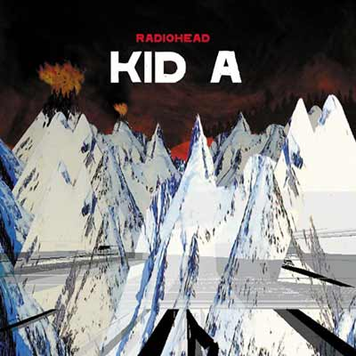 The album art for Radiohead's Kid A