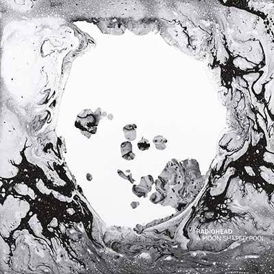 The album art for Radiohead's A Moon Shaped Pool